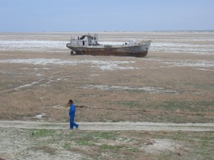 Sailing the Aral Sea, circa 2006